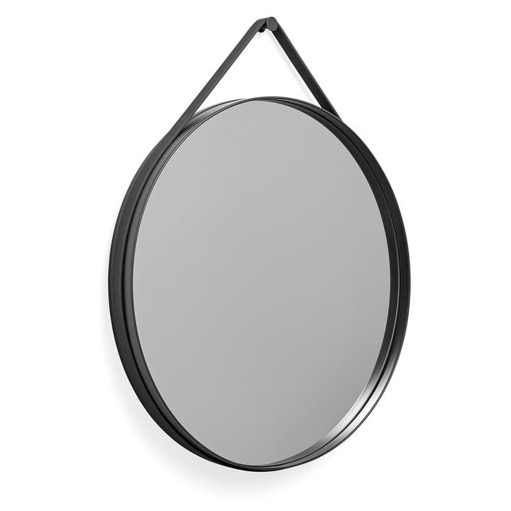 Hay - Strap Mirror 70 cm, anthrazit