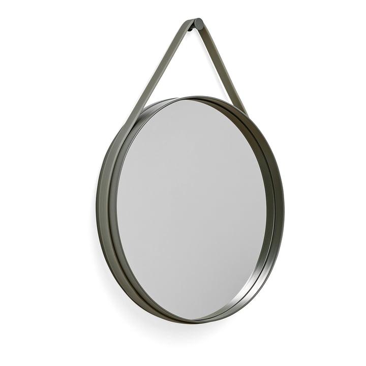 Hay - Strap Mirror 50 cm, army