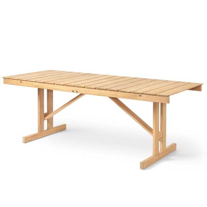 BM1771 Tisch 78 x 194.5 cm von Carl Hansen in Teak unbehandelt