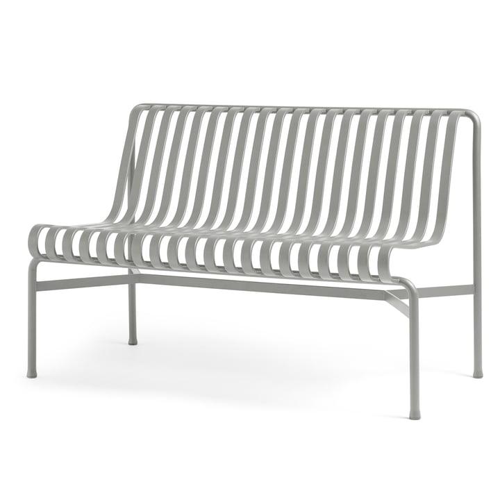 Palissade Dining Bench ohne Armlehnen von Hay in sky grey