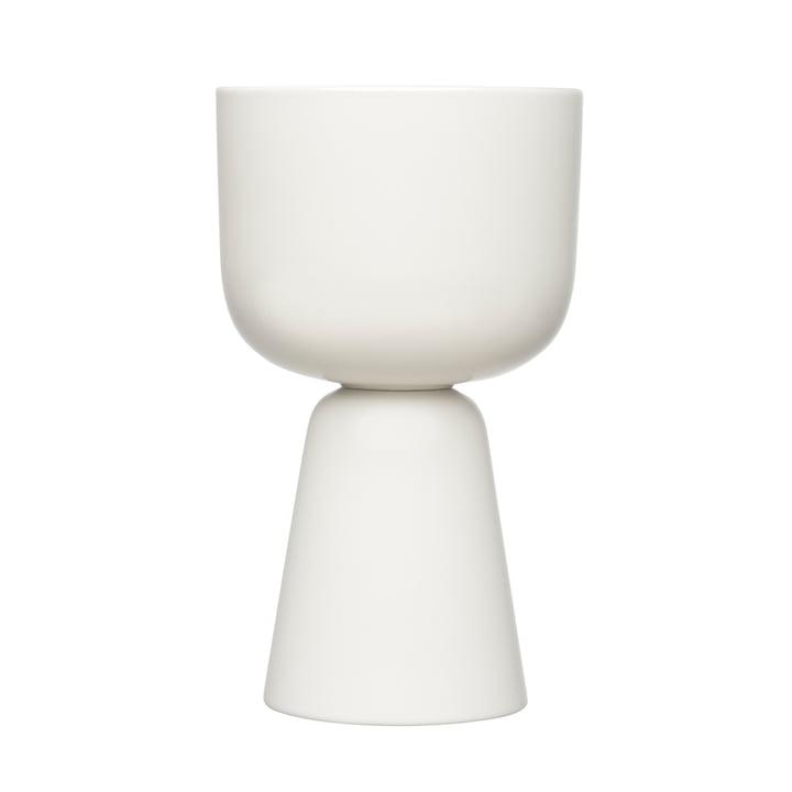 Nappula Blumentopf 260 x 155 mm von Iittala in weiß