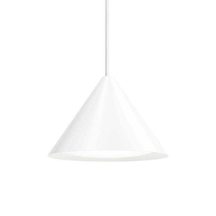 Keglen LED-Pendelleuchte Ø 400 mm von Louis Poulsen in weiß