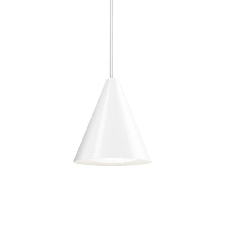 Keglen LED-Pendelleuchte Ø 250 mm von Louis Poulsen in weiß