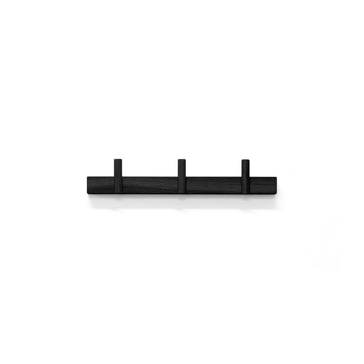 Line Up Garderobe klein von Depot4Design in Esche schwarz lackiert