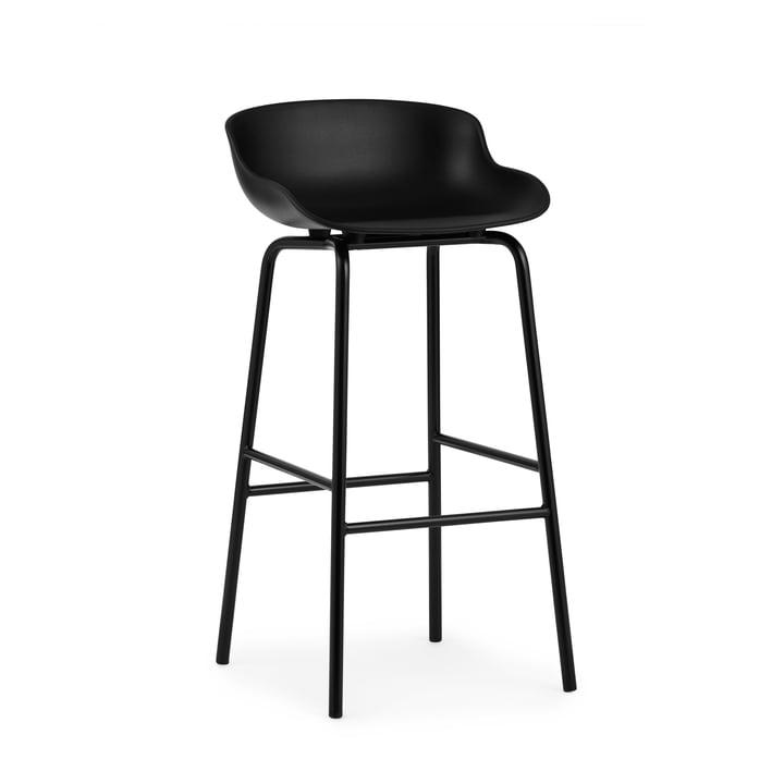 Hyg Barhocker H 75 cm von Normann Copenhagen in schwarz