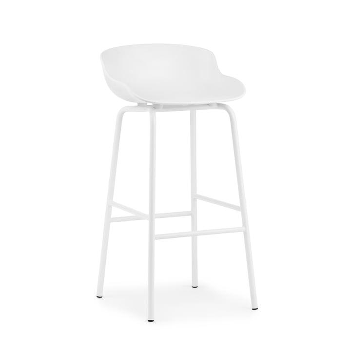 Hyg Barhocker H 75 cm von Normann Copenhagen in weiß