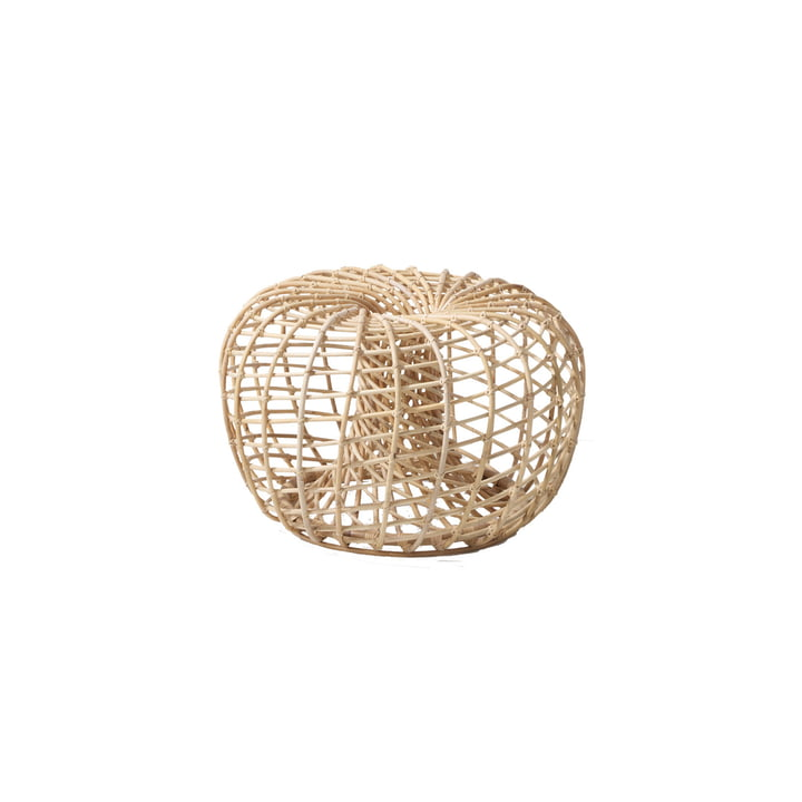 Nest Hocker Indoor Ø 65 cm, natur von Cane-line