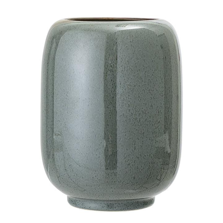 Steingut Vase Ø 14 x H 18 cm von Bloomingville in grün