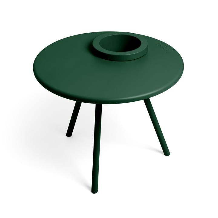 Der Bakkes Beistelltisch von Fatboy in emerald green