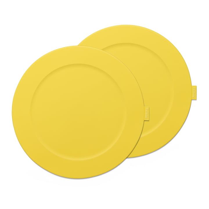 Place-we-met Tischset von Fatboy in der Farbe lemon