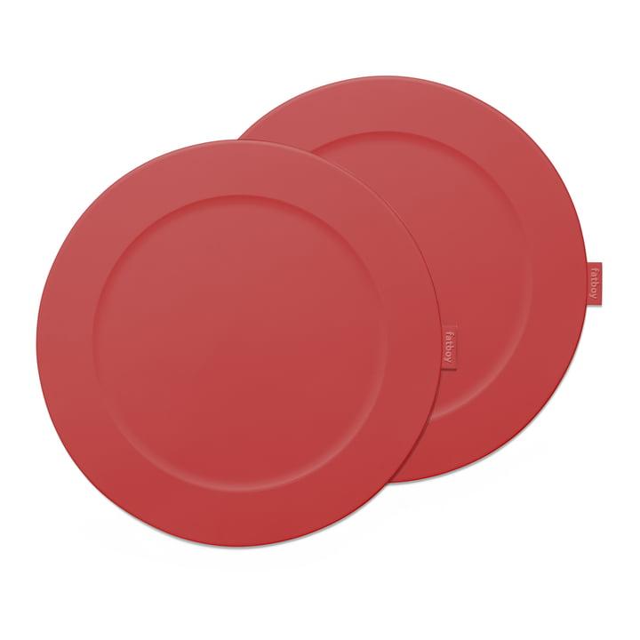 Place-we-met Tischset von Fatboy in der Farbe industrial red