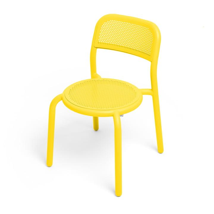 Toní Stuhl von Fatboy in der Farbe Lemon