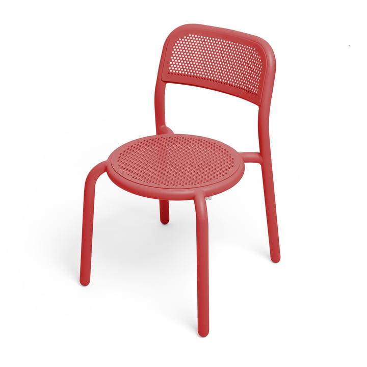 Toní Stuhl von Fatboy in der Farbe industrial red
