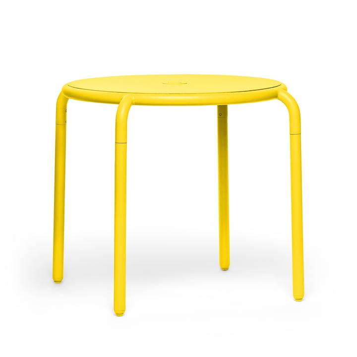 Der Toní Bistrotisch von Fatboy in der Ausführung lemon