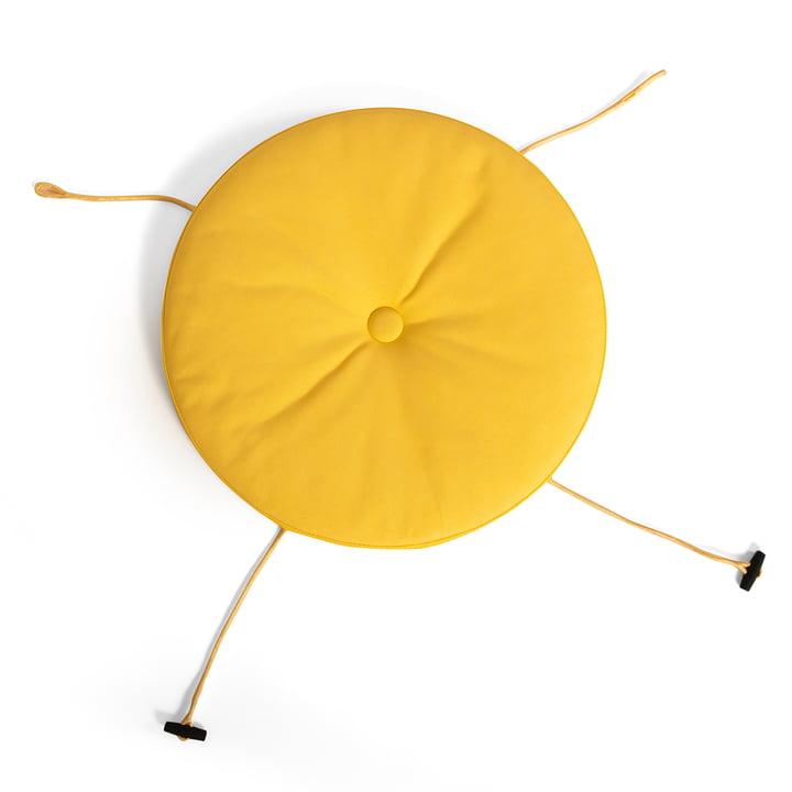 Sitzkissen für Toní Stuhl in sunshine yellow