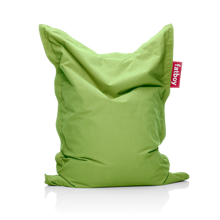 Junior Sitzsack Stonewashed von Fatboy in der Farbe lime green