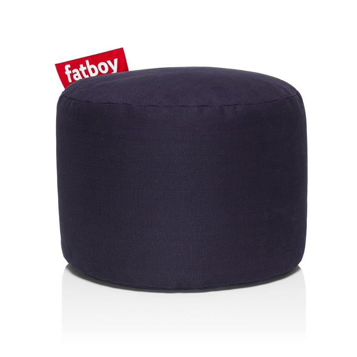 Point Stonewashed Sitzhocker von Fatboy in dunkelblau