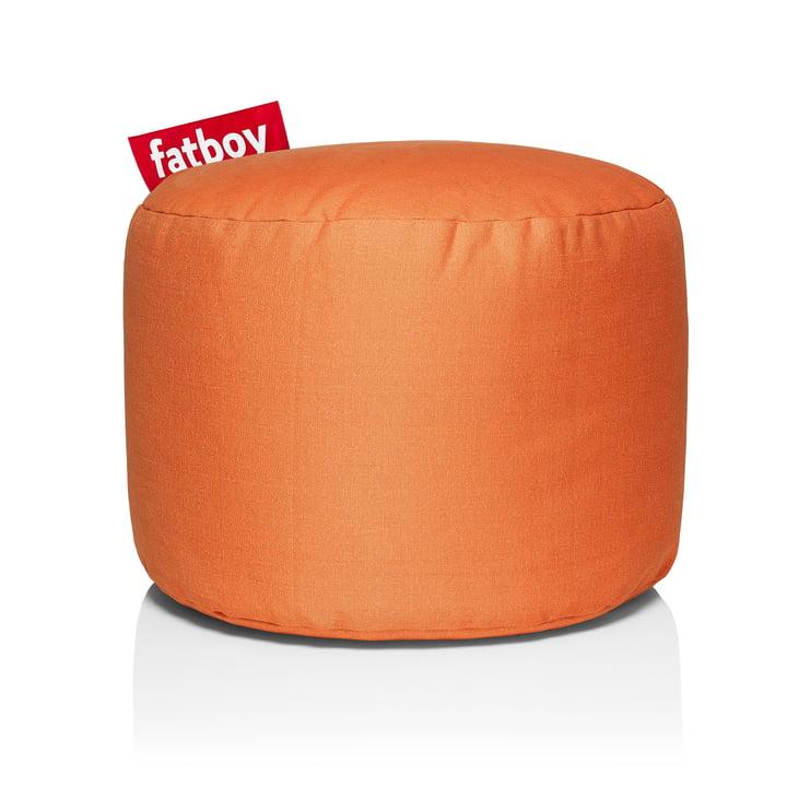 Point Stonewashed Sitzhocker von Fatboy in orange