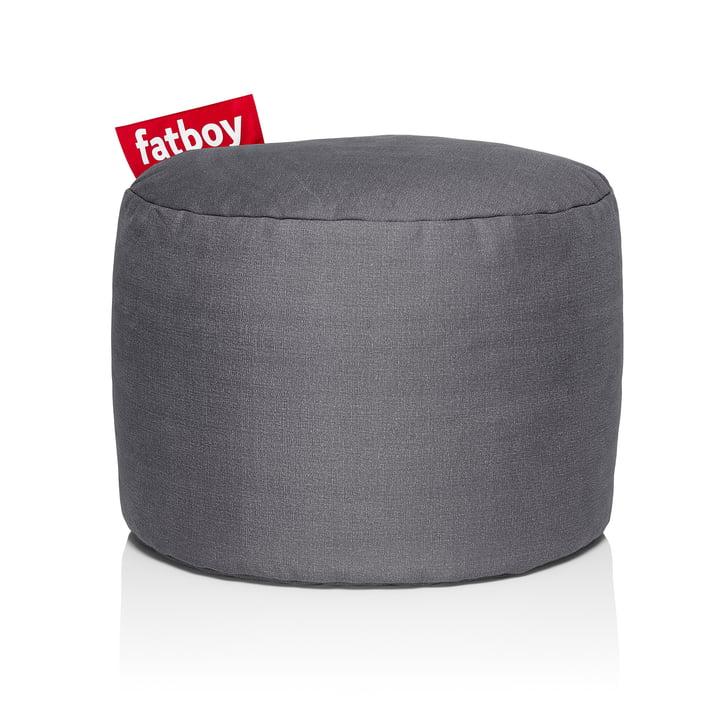 Point Stonewashed Sitzhocker von Fatboy in grau