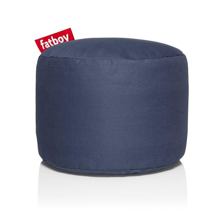 Point Stonewashed Sitzhocker von Fatboy in blau