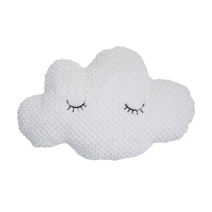 Kinderkissen Wolke 60 x 40 cm von Bloomingville in weiß