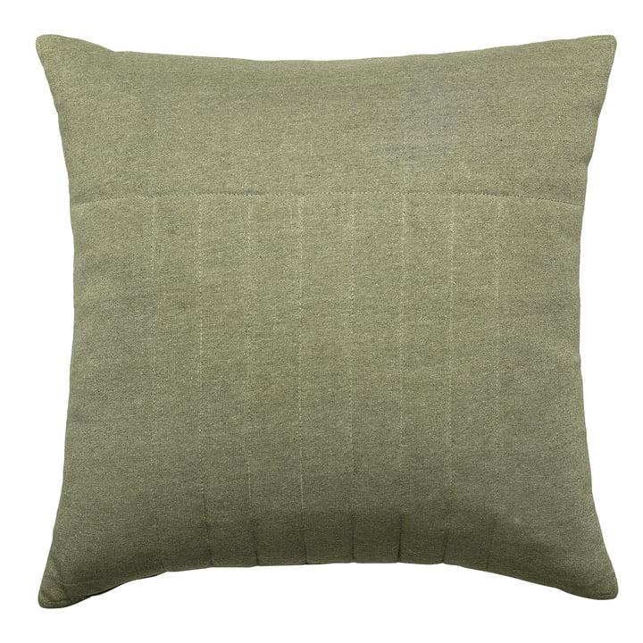 Kissen gesteppt 45 x 45 cm von Bloomingville in grün
