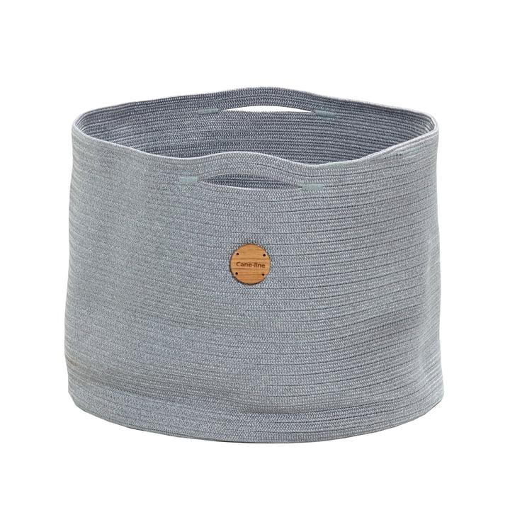 Soft Aufbewahrungskorb Ø 50 cm, hellgrau von Cane-line