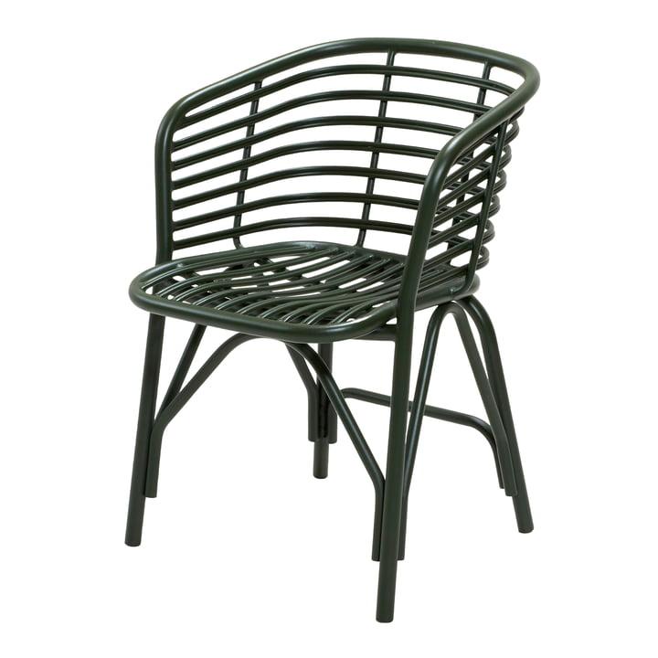 Blend Sessel Outdoor, dunkelgrün von Cane-line