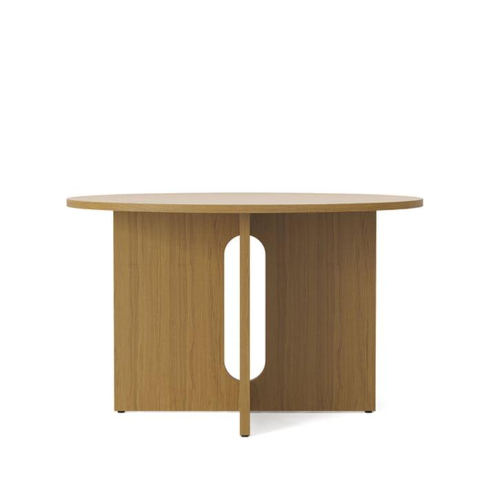 Androgyne Tisch, Ø 120 x H 73 cm, Eiche von Menu