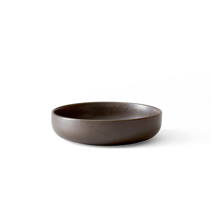 Menu - New Norm Schale Ø 13,5 cm, low, dark glazed