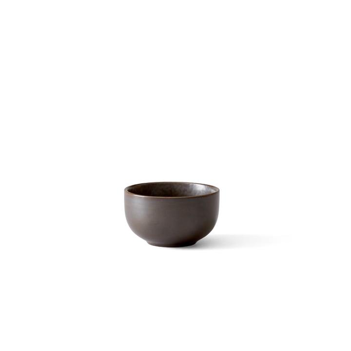 Menu - New Norm Schale Ø 7,5 cm, dark glazed