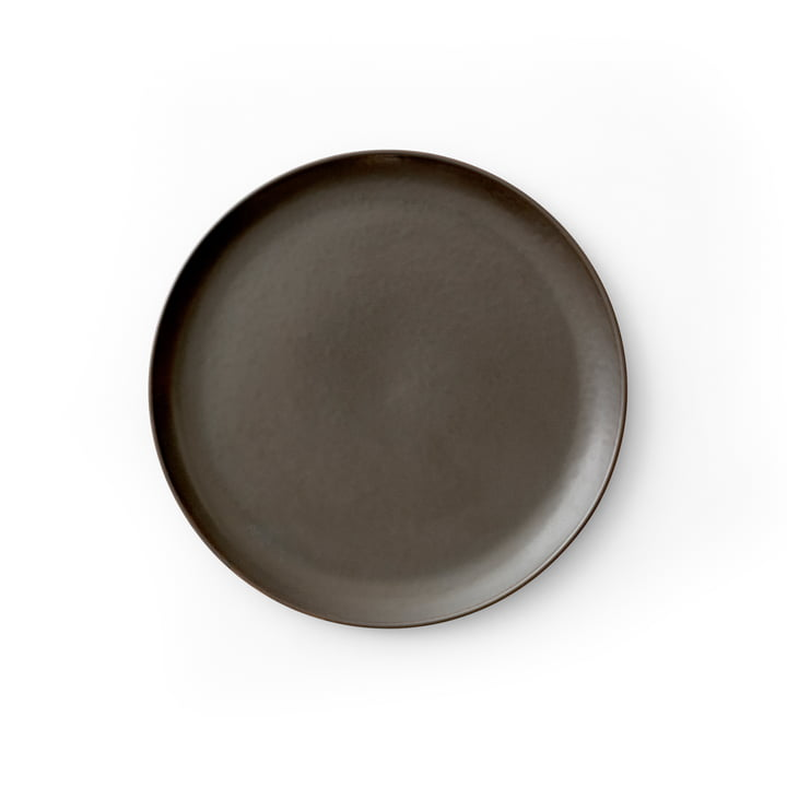 New Norm Beilagenteller Ø 19 cm, dark glazed von Menu