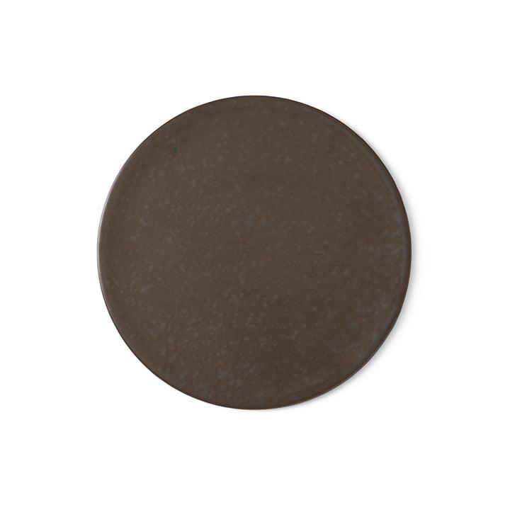 Menu - New Norm Teller / Deckel Ø 21.5 cm, dark glazed