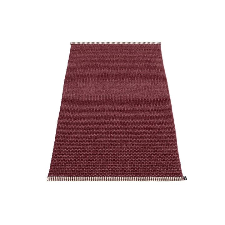 Mono Teppich 60 x 150 cm von Pappelina in zinfandel / rose taupe