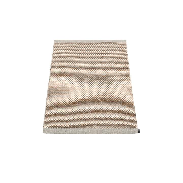 Effi Teppich 60 x 85 cm von Pappelina in warm grey / braun / vanilla