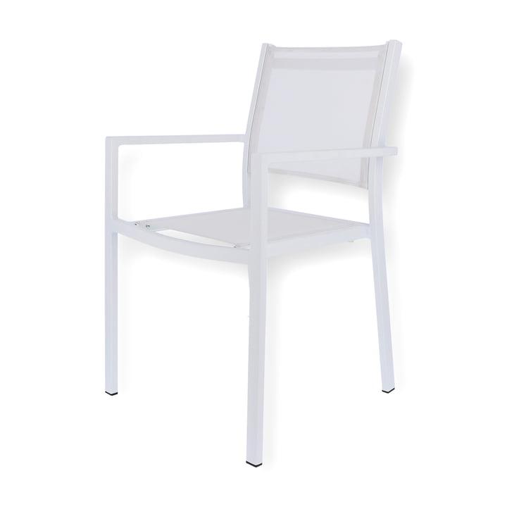 Aria Stapelsessel von Fiam in weiß
