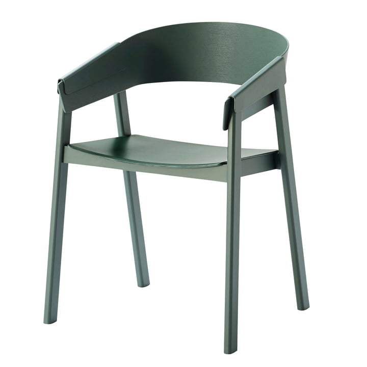 Cover Stuhl von Muuto in grün