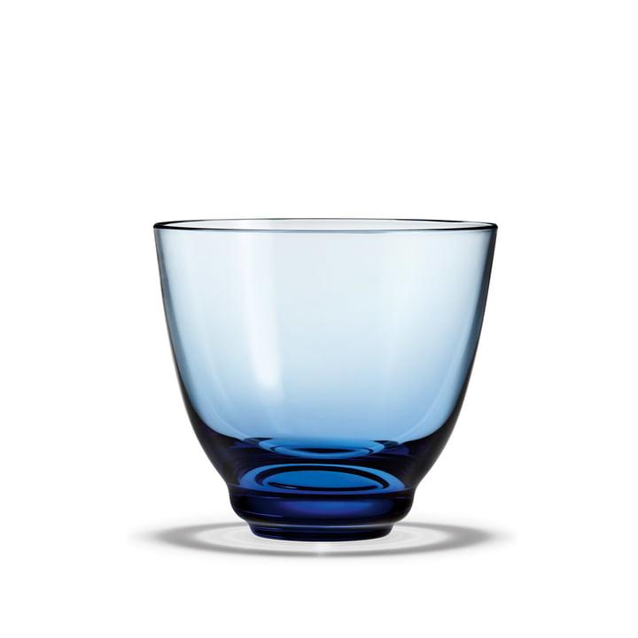 Flow Wasserglas 35 cl von Holmegaard in blau