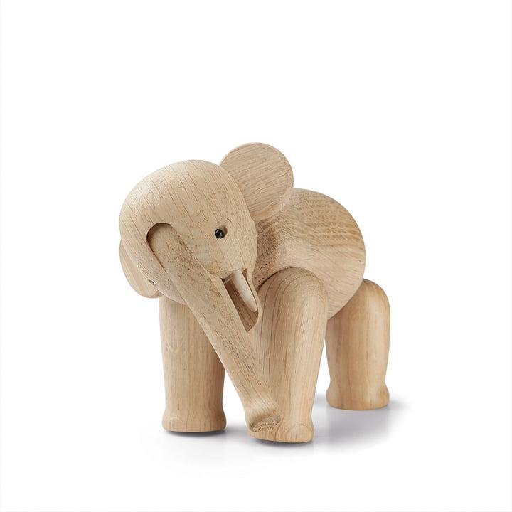 Holz-Elefant Mini von Kay Bojesen in Eiche