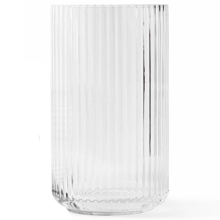 Glasvase H 38 cm von Lyngby Porcelæn in transparent