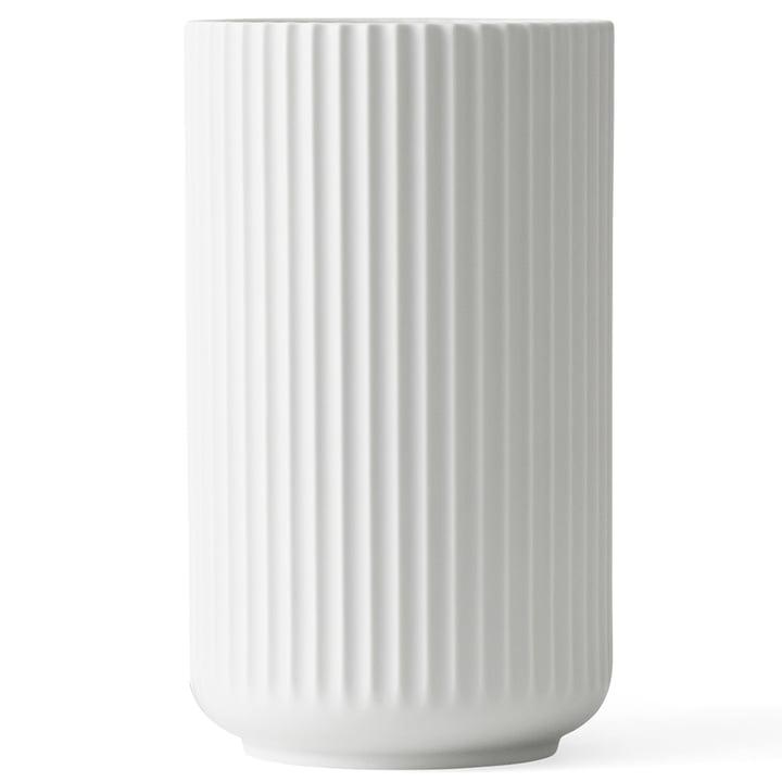 Lyngbyvase H 38 cm von Lyngby Porcelæn weiß