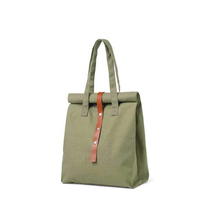 Rå Picknick Tasche H 43 cm von Juna in moosgrün