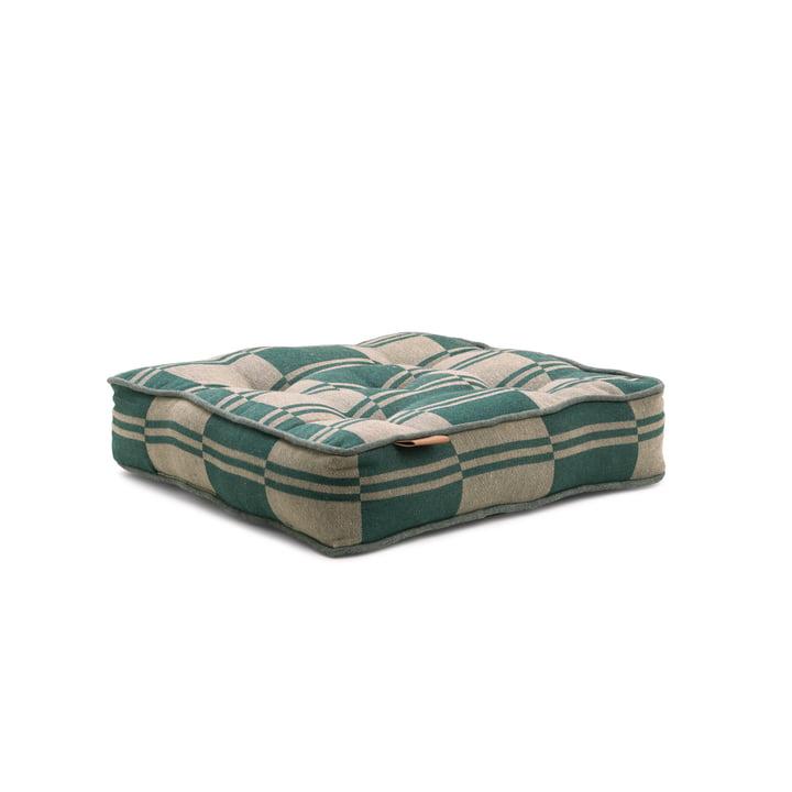 Outdoor Colour Sitzkissen 40 x 8 x 40 cm von Juna in grün / beige