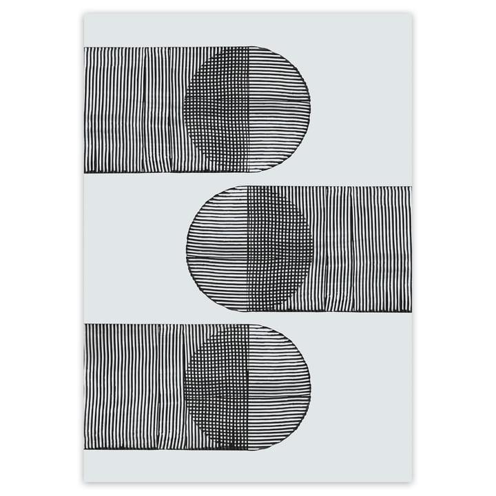 Linear Shapes Poster von artvoll