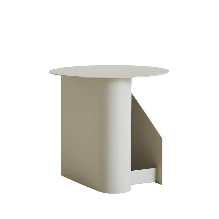 Sentrum Beistelltisch Ø 40 x H 36 cm von Woud in warm grey