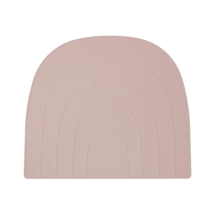 Regenbogen Tischset 34 x 41 cm, rosa von OYOY