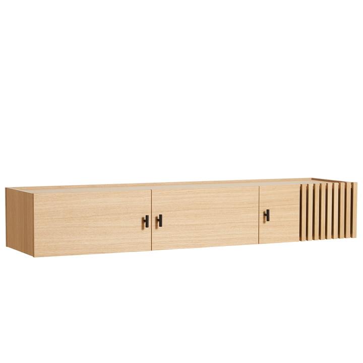 Array Sideboard 150 cm von Woud in Eiche (wandmontiert)
