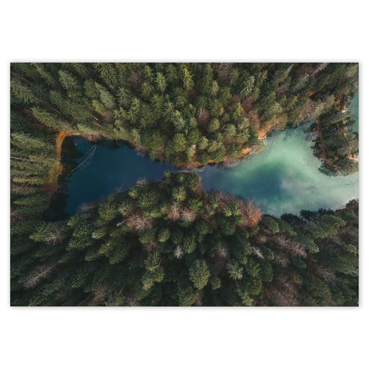 See-Landschaft als XXL Poster von Tom Hegen