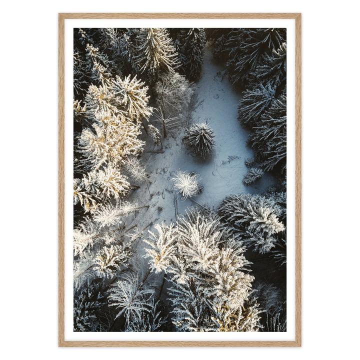 Landschaftsfotografie mit Eichen-Rahmen von Tom Hegen