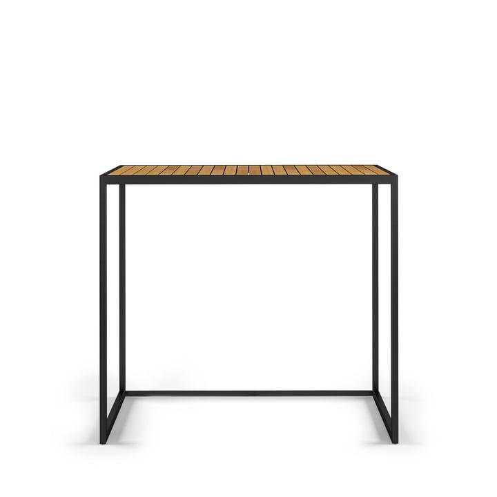 Open Bistro Tisch 100 x 50 cm, Edelstahl / Teak von Röshults